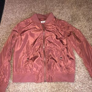 New bomber jacket from Charlotte Russe!